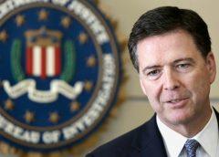 Former FBI director, James Comey