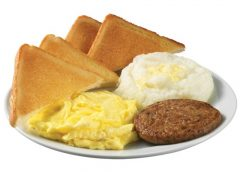 Breakfast Deal at Krystal