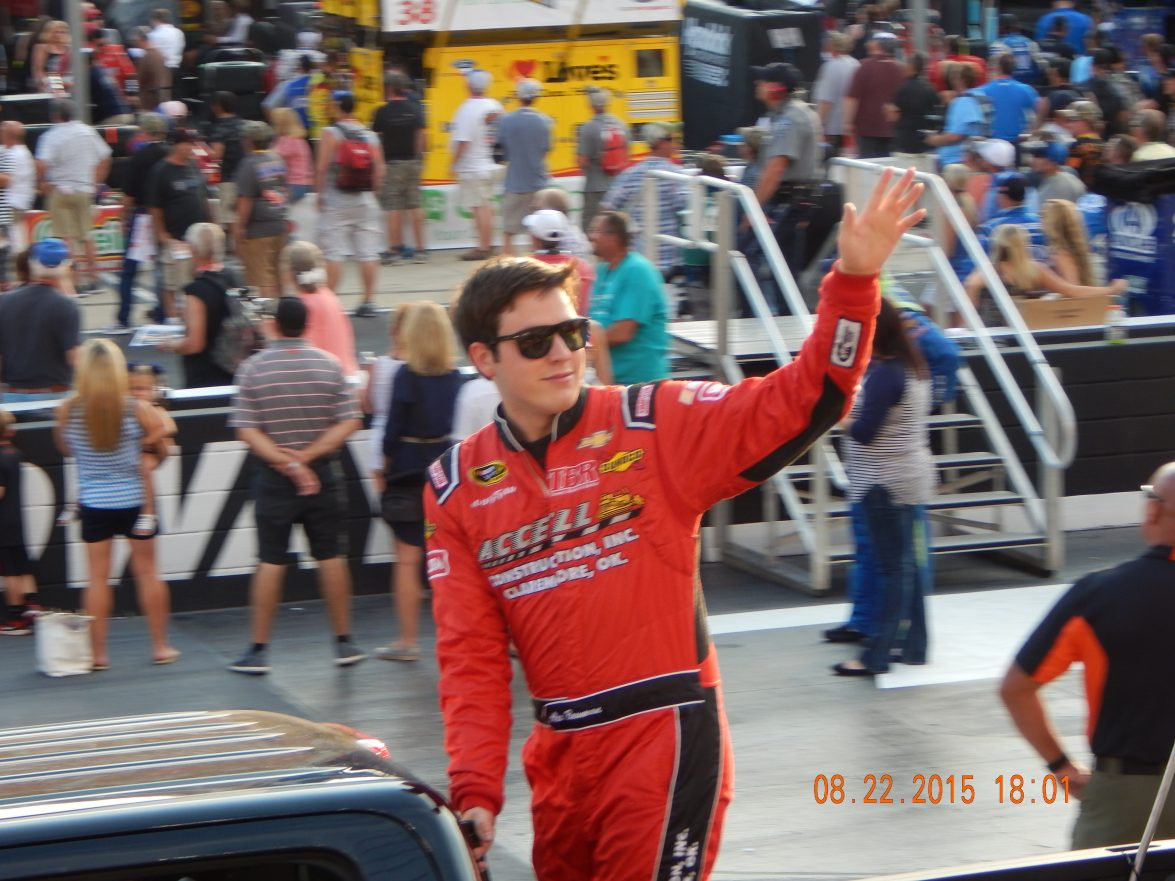 Alex Bowman at Thunder Valley