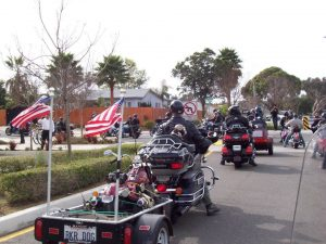 photo of motorcycle parade
