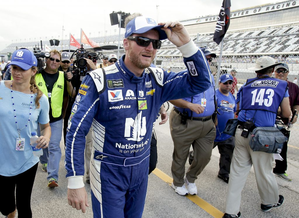 Dale Earnhardt Jr Wins Coke Zero 400 Pole