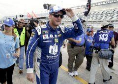Dale Earnhardt Jr Wins The Pole For Possible Last Daytona Race