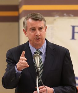 photo of Virginia GOP Gubernatorial Candidate Ed Gillespie in a speaking engagement