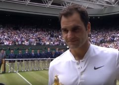 Switzerland's Roger Federer Notches His 19th Grand Slam And 8th Wimbledon Finals Championship
