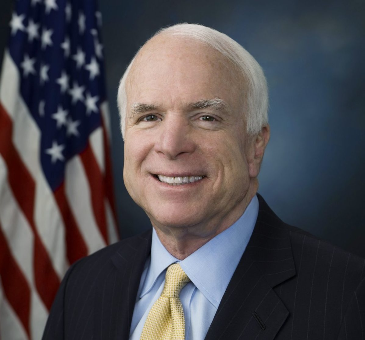 Official photo of Senator John McCain
