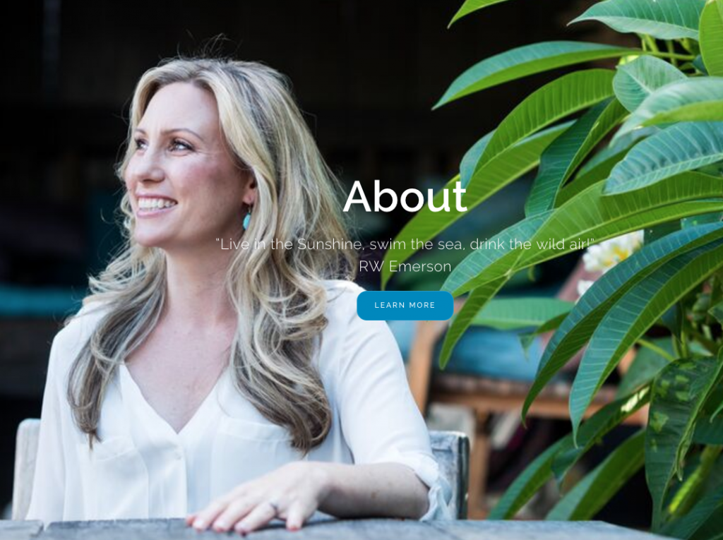 A social media about image of Justine Damond.