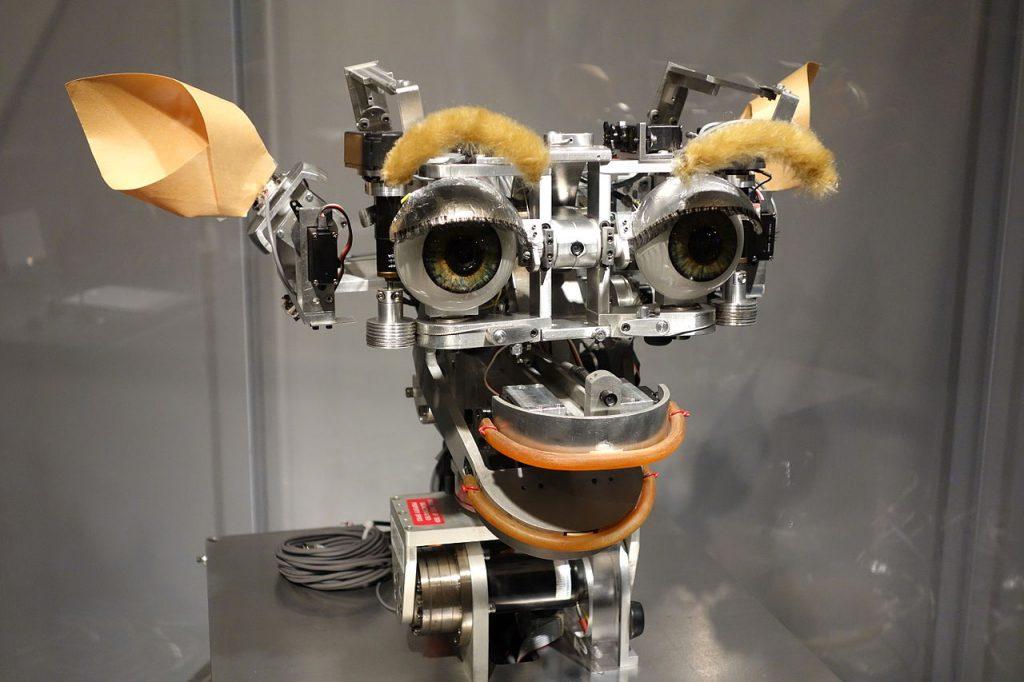 photo of Kismit Robot at MIT (Massachusetts Institute of Technology) Museum