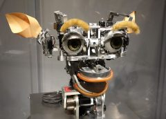photo of Kismit Robot at MIT (Massachusetts Institute of Technology) Museum