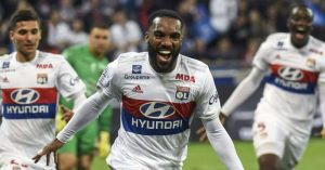 Lacazette had 37 goals for French side Lyon last season.