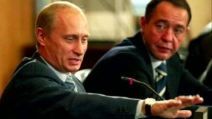 Lesin and Putin.