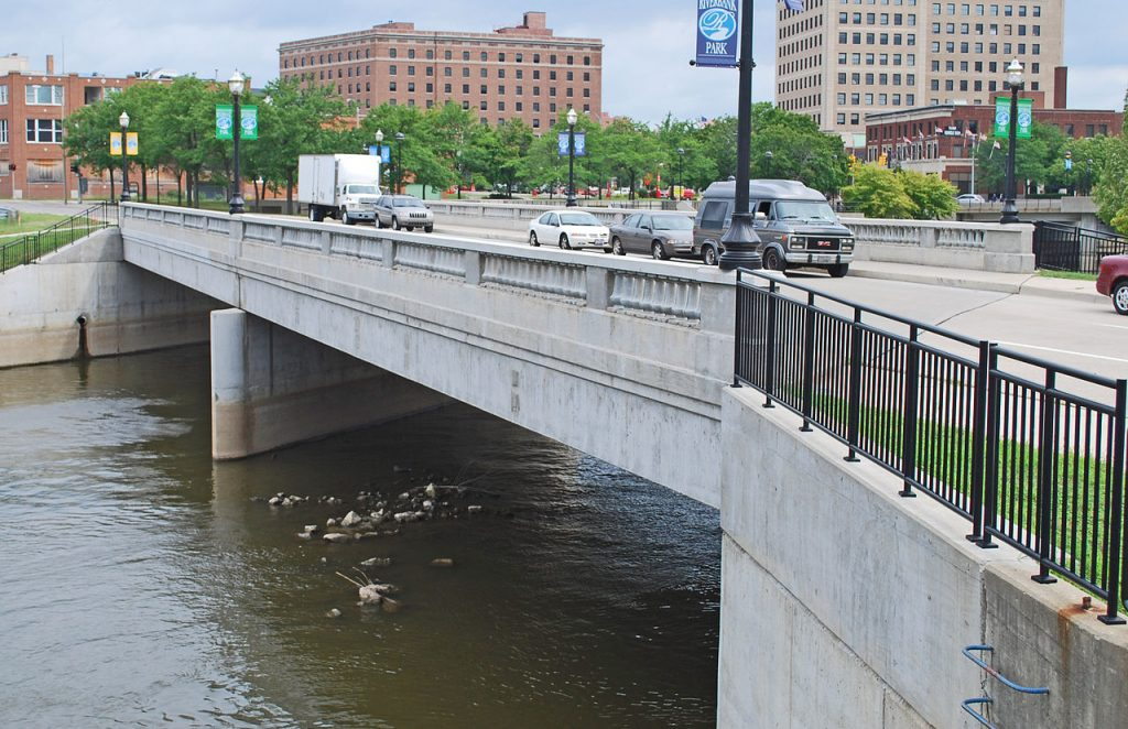 photo of the Flint River (Garland Bridge)