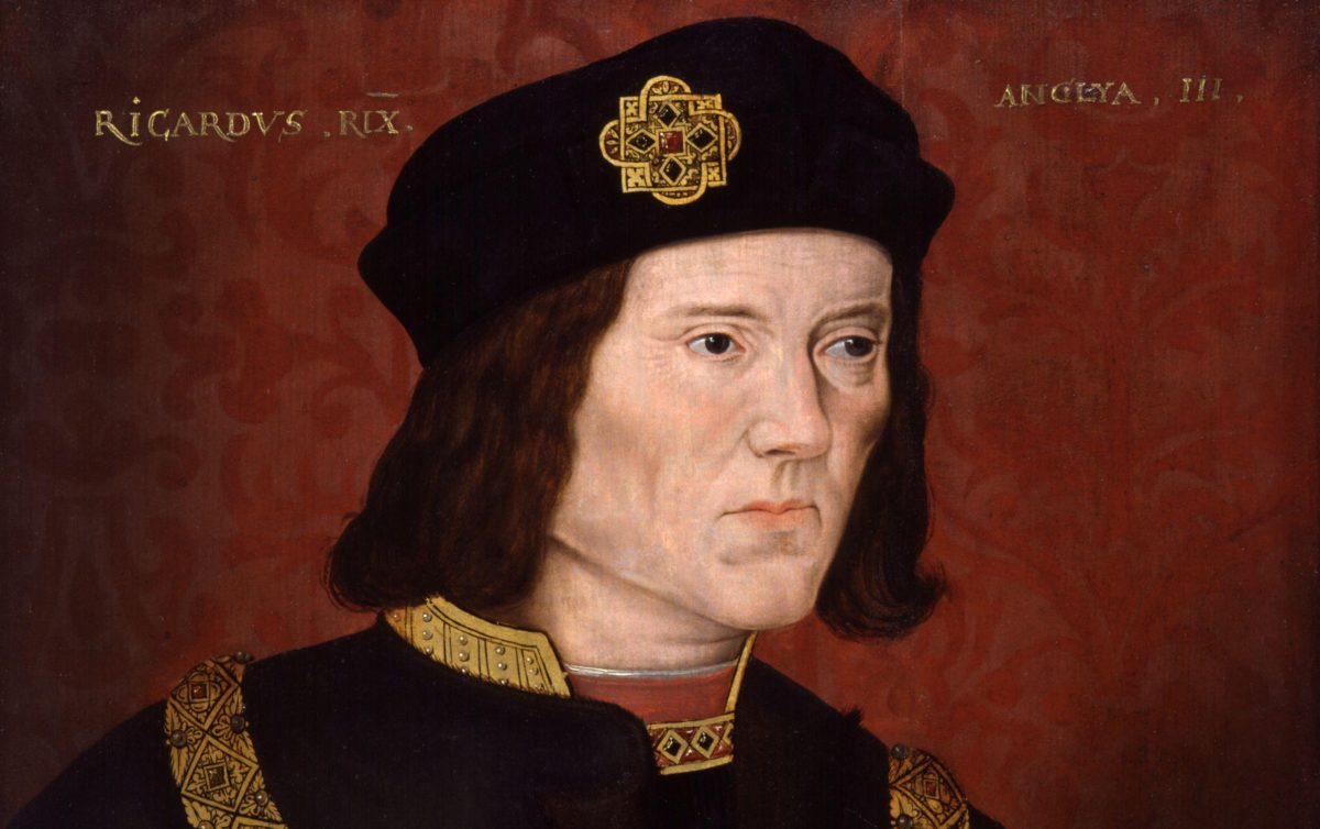 Portrait painting of King Richard III