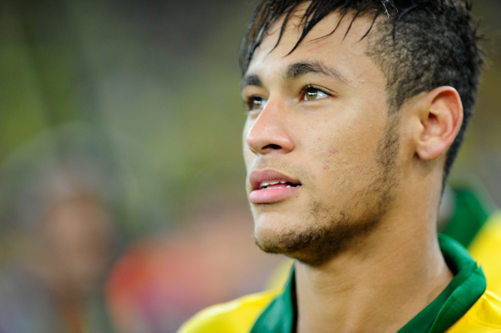 photo of Barcelona soccer great Neymar