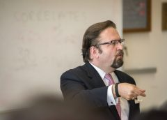 Photo of dismissed assistant National Security Adviser Sebastian Gorka speaking at counter terrorism conference