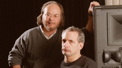 photo of Walter Becker and Donald Fagan of Steely Dan
