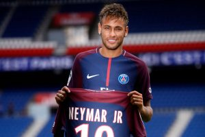Neymar transferred from Barcelona to PSG.