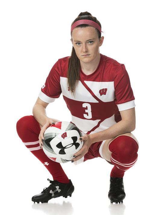 publicity photo of up and coming Women's Soccer star from the Cincinnati Ohio area - Rose La Velle