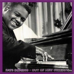 photo of Fats Domino at the piano