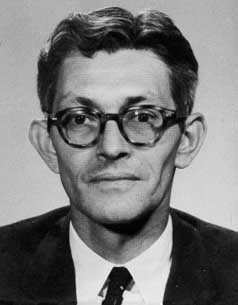 file photo of CIA counter intelligence official during the pre and post JFK era - James Jesus Angleton