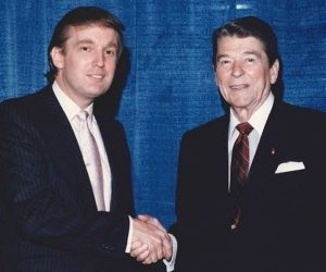 Reagan and Trump