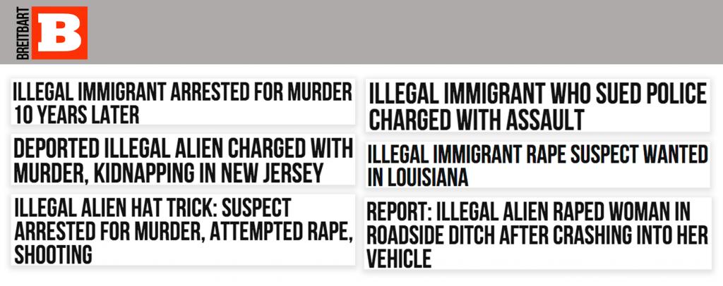 Breitbart headlines