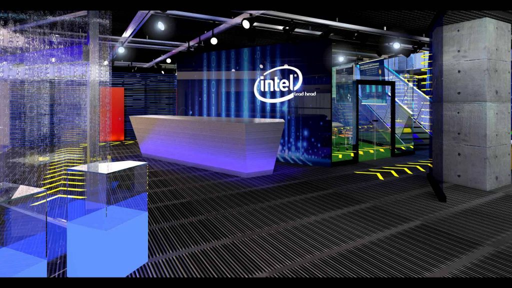 Photo of Intel's Capstone Project offices