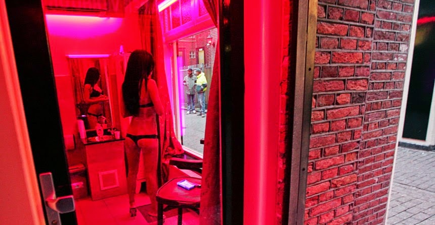 photo of state regulated sex parlor in Amsterdam, Netherlands