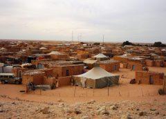 photo of Sahrawi refugee camp in Algerian desert