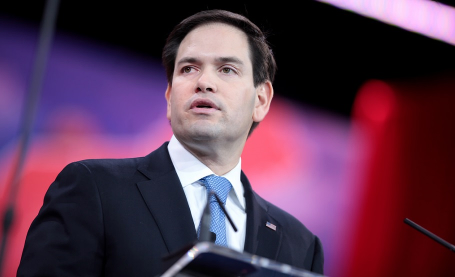 photo of Marco Rubio speaking at CPAC convention