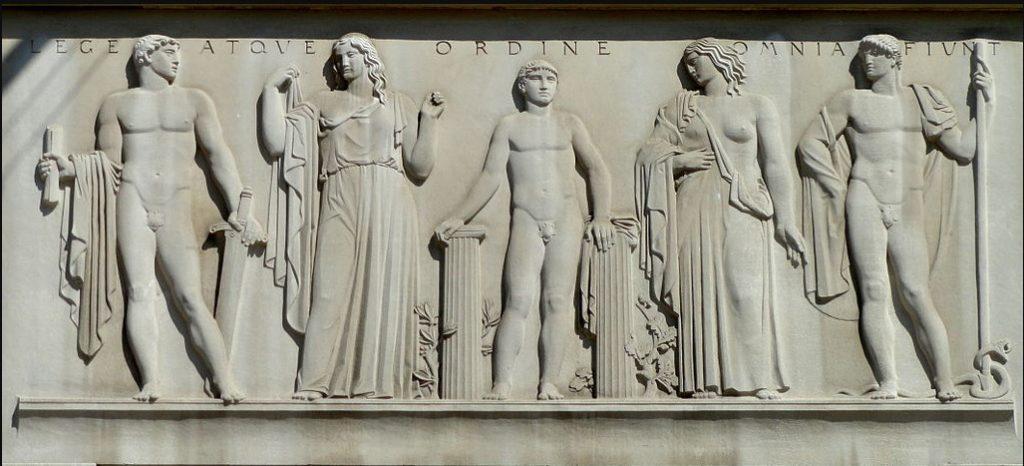 Lege Atque Ordine Omnia Fiunt - Robert F. Kennedy Department of Justice Building