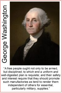 George Washington Second Amendent quote