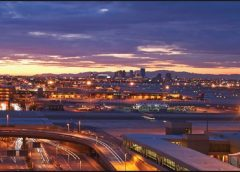 nighttime city scape photo of Maricopa Country and Phoenix at dusk