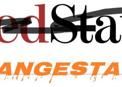 the Red State logo crossed out and underneath, the real new identity - OrangeState