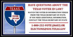 Texas Voter Information meme