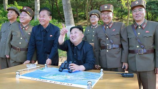 North Korean President Kim Jong Un.