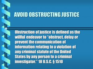 18 U.S.C. 1510 Obstruction of Justice meme