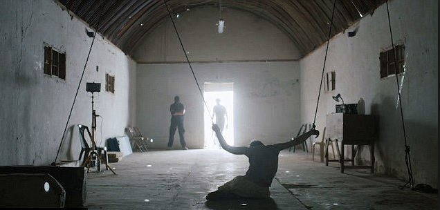 simulation of enhanced interrogation recreated by Columbia pictures studios