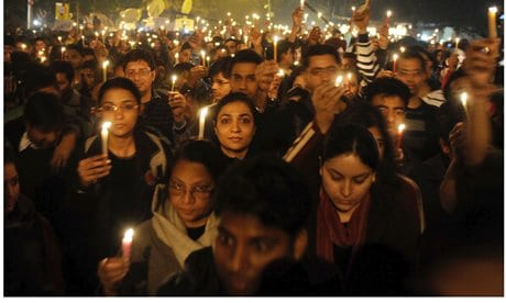 Protests about India's Rape Culture in New Delhi - 2012