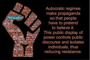 Propaganda Fist Graphic