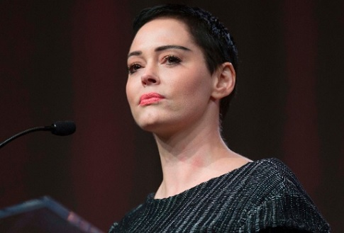 Actress Rose McGowan, one of the many women who blew the whistle on the sexual misconduct of Hollywood producer Harvey Weinstein