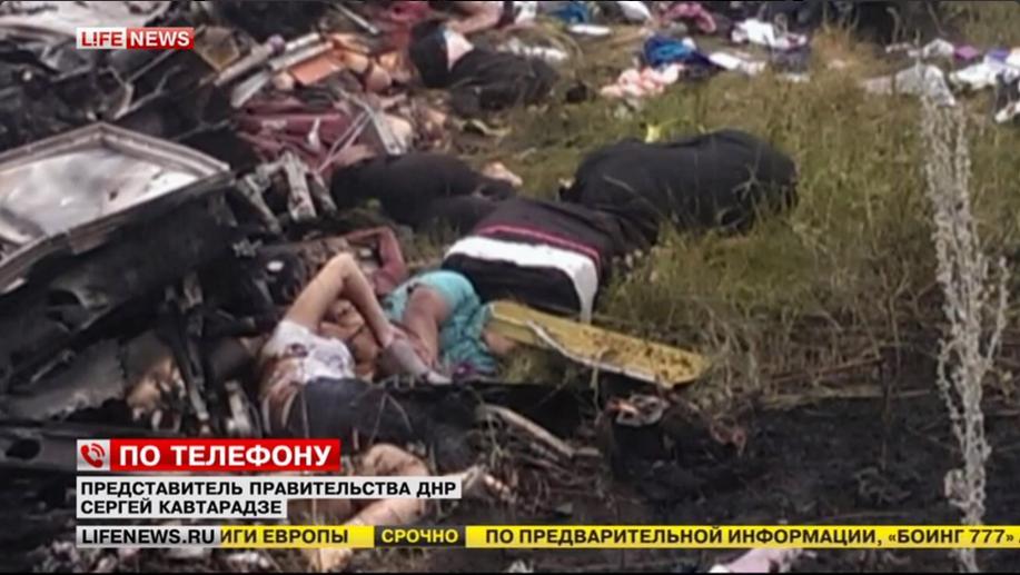 Malaysian civilian aircraft crash.