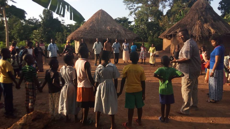 A Community Circle at Neema Mission Centre