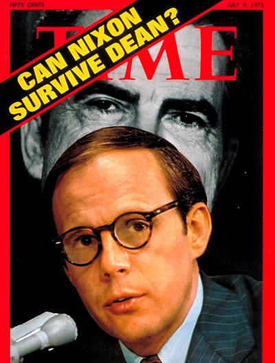 John Dean on Time Magazine cover in 1973.