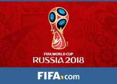 Official Logo of the 2018 FIFA World Cup Soccer championship