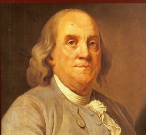 Benjamin Franklin - founding advocate for impeachment clause.
