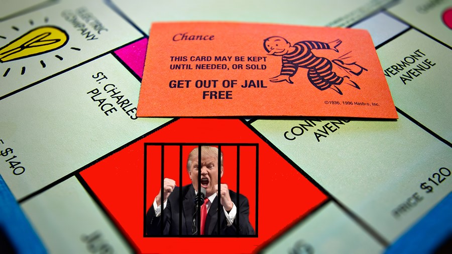 Trump Get out Jail Free