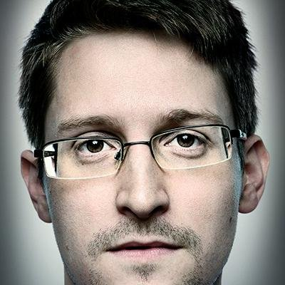 Former CIA employee and US government contractor Edward Snowden