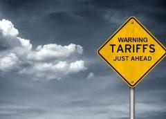 Tariffs Ahead graphic