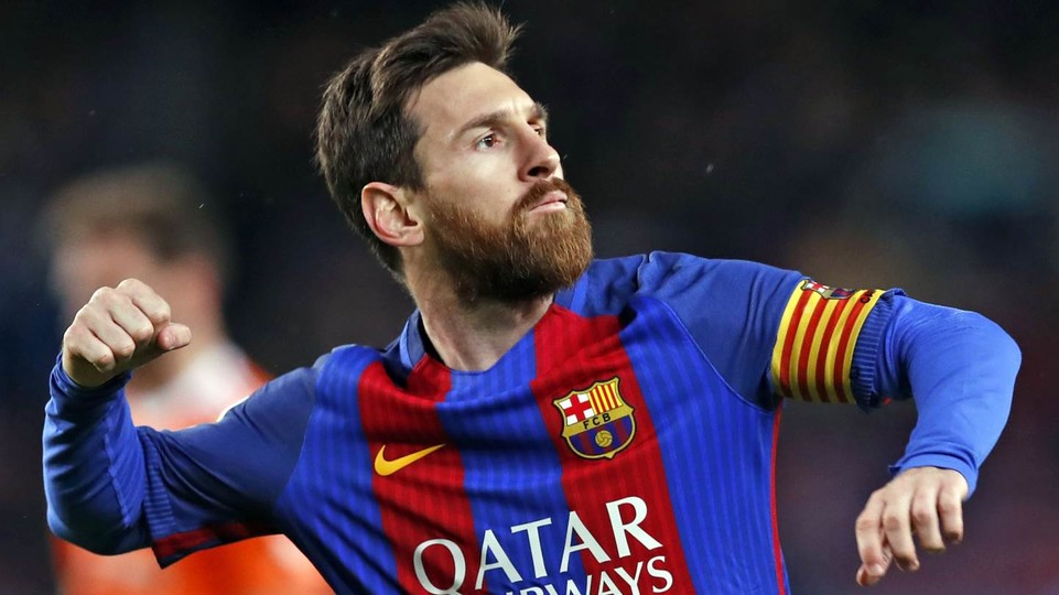 Lionel Messi, the greatest player ever.