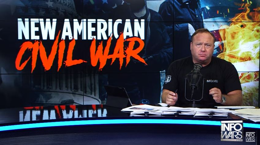 Infowars host Alex Jones.